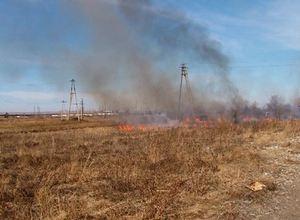 В Хакасии традиционно стали гореть степи