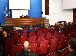 Глава Саяногорска отчитался перед Советом депутатов по итогам работы за 2017 год