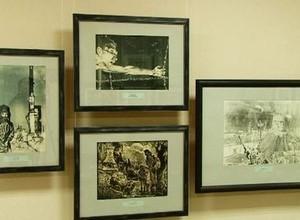Саяногорцы могут увидеть взгляд художников – фронтовиков на Великую Отечественную войну