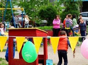 Маленьких саяногорцев все лето ждут «Игры нашего двора»