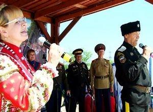 В Саяногорске отгремел первый казачий фестиваль