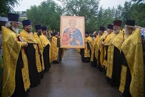 Большим крестным ходом отметили 1030-летие Крещения Руси в Хакасии