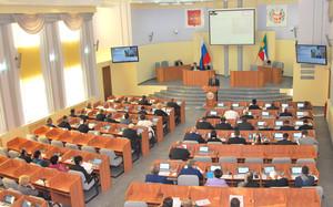 Парламент Хакасии ушел на каникулы