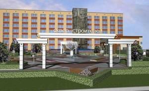 Уникальный сквер с футуристическими скульптурами и фонтаном появится в Хакасии