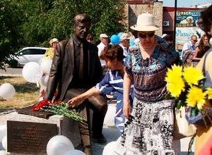 В Саяногорске открыли новый памятник Василию Стриго