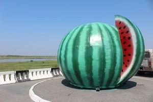 На автотрассу Абакан-Саяногорск вернулся знаменитый Арбуз