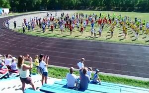 В Саяногорске прошел марафон здоровья в честь Дня физкультурника