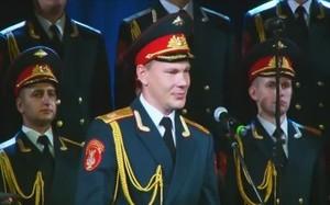 Перед саяногорцами вновь выступил ансамбль песни и пляски Российской армии