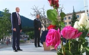 Саяногорск почтил память погибших в аварии на СШГЭС