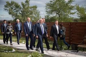 С рабочим визитом глава Хакасии посетил Саяногорск