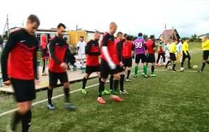 Саяногорский «Авангард» проиграл лидеру чемпионата Хакасии по футболу