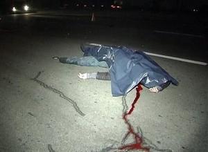 На трассе Абакан – Саяногорск задавили насмерть пешехода