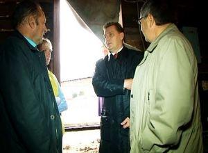 Глава Саяногорска познакомился с проблемами Богословки