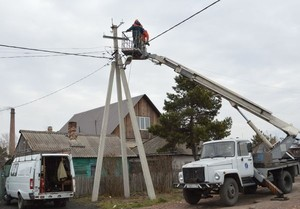 В ходе учений сибирских энергетиков была восстановлена система уличного освещения Черногорска