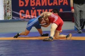 Борцы из Хакасии завоевали награды международного турнира