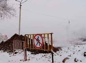 В связи с устранением аварии часть домов Саяногорска временно отключат от воды и тепла