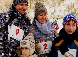 Саяногорцы провели новогодние каникулы «На лыжах»