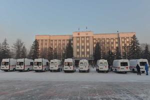 В Хакасию поступили новые автомобили скорой помощи