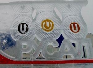 В Саяногорске появились ледяные медали Зимней Универсиады 2019