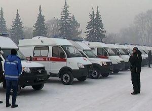 У Саяногорска появилась еще одна новая машина скорой