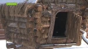 В Саяногорске появилась избушка Бабы Яги