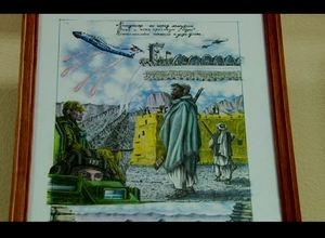 В Саяногорском музее открылась выставка художника – афганца Рената Шафикова