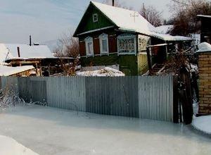 Жители улицы Горная в поселке Майна снова попали в ледяной плен