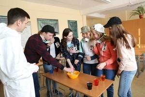Старшеклассники Лицея №7 Саяногорска приняли участие в квесте от РУСАЛа