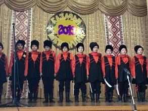 Юные казаки Хакасии приняли участие в празднике зимних казачьих игр