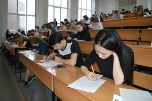 Более 200 будущих абитуриентов Хакасии сразились в предметных олимпиадах ХГУ