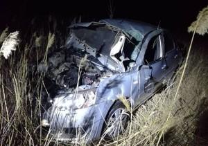 На трассе Абакан – Саяногорск перевернулась иномарка. Водитель тяжело ранен