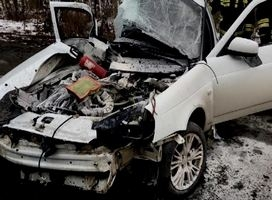 В Саяногорске в ДТП по вине нетрезвого водителя серьезно пострадала пассажирка