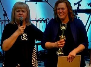 Журналист Первого городского телевидения получила высшую оценку от телезрителей