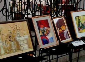 В Саяногорске художники — преподаватели расправили «Крылья»