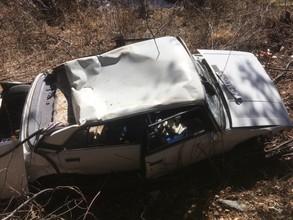 В Хакасии 91-летний водитель влетел в камень и погиб