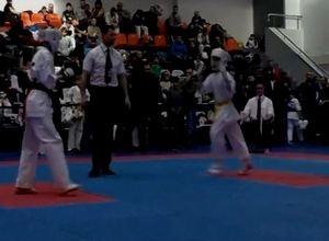 Впервые спортсмены из Саяногорска представили навыки владения каратэ на Первенстве России