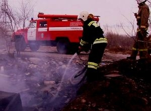 В Саяногорске выдались «жаркие» выходные