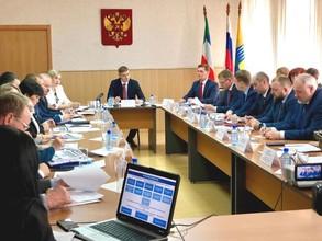 В городе Саяногорске состоялось выездное заседание Совета развития Республики Хакасия