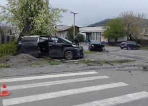 В Хакасии водитель иномарки устроил ДТП и скрылся