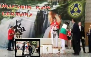 Саяногорец Антон Серков взял серебро Первенства Европы KWU по киокусинкай карате