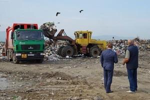 В Саяногорске ликвидируют свалку, которая больше двух лет мучила жителей города