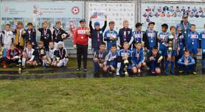 В Саяногорске определились победитель и призеры детского турнира по футболу