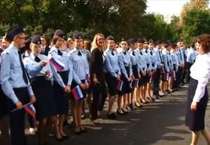 В Саяногорске открылись три полицейских класса