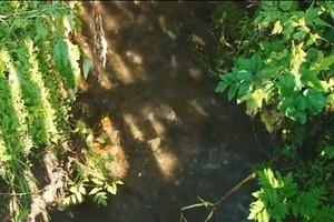 Ручей Горный в Майна начинают чистить к зиме