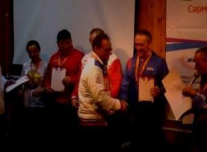 Саяногорский морж завоевал 3 серебряные награды