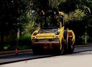 Ремонт дорог в Саяногорске близится к финишу