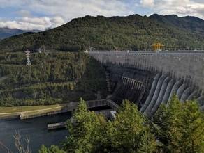 На СШГЭС началась плановая сработка водохранилища