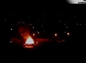 В Саяногорска в результате пожара пострадала времянка и баня