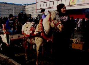 Саяногорск встретил Масленицу