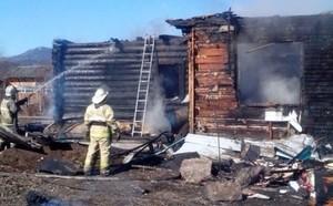 В Абазе при пожаре в частном доме погиб мужчина